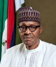 الرئيس النيجيري محمدو بخاري.