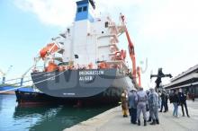السفينة الجزائرية التي ينتظر أن تصل ميناء نواكشوط صباح الاثنين