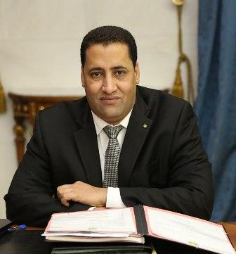 المدير الجديد للشركة الوطنية للصناعة والمناجم المختار ولد أنجاي