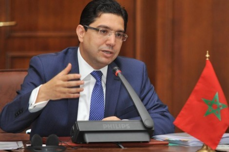 ناصر بوريطة وزير الشؤون الخارجية والتعاون، المغربي.