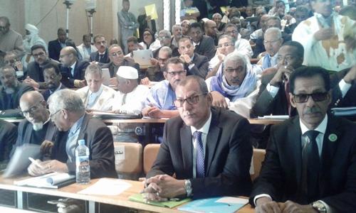 وحضر إلى المشاورات نائب رئيس جهة نواذيبو والمديرالعام للشركة الموريتانية لتسويق الأسماك/ الأخبار