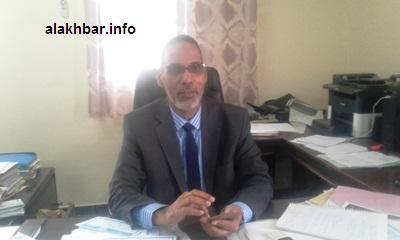 مدير فرع شركة الكهرباء في نواذيبو الحاج محمد محمود/ الأخبار