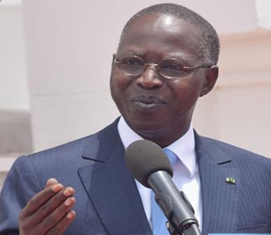 محمد بون عبد الله ديون الوزير الأول السنغالي.