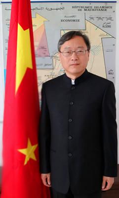 تشانغ جيان قوه ـ سفير الصين بموريتانيا
