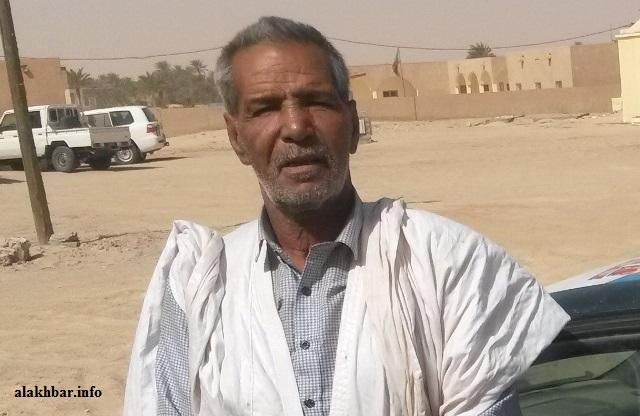 السائق المحترف والعسكري السابق عمران ولد عمران تحدث للأخبار من مدينة تيشيت التاريخية ـ (الأخبار)