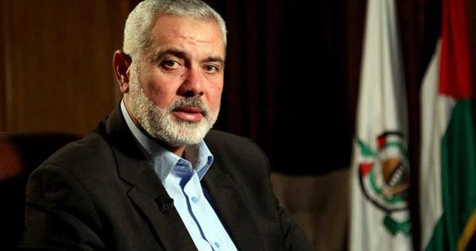 رئيس المكتب السياسي لحركة المقاومة الإسلامية حماس إسماعيل هنية