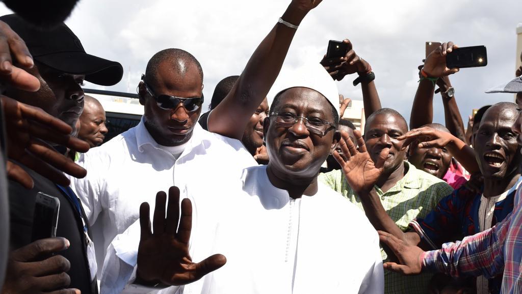 زعيم المعارضة المالية سومايلا سيسي.