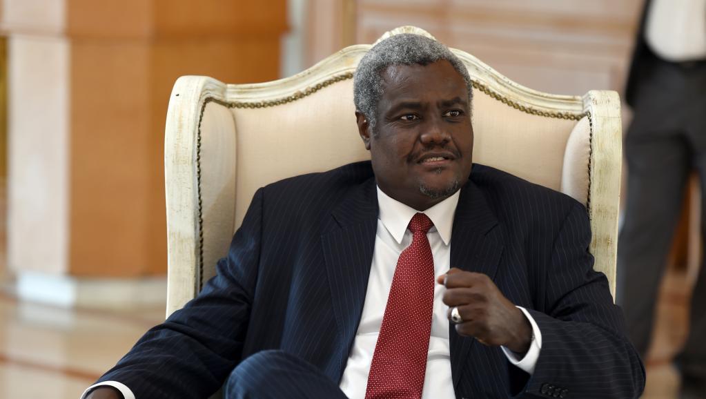 اتشادي موسى افاكي ماهامات الرئيس الجديد لمفوضية الاتحاد الإفريقي.