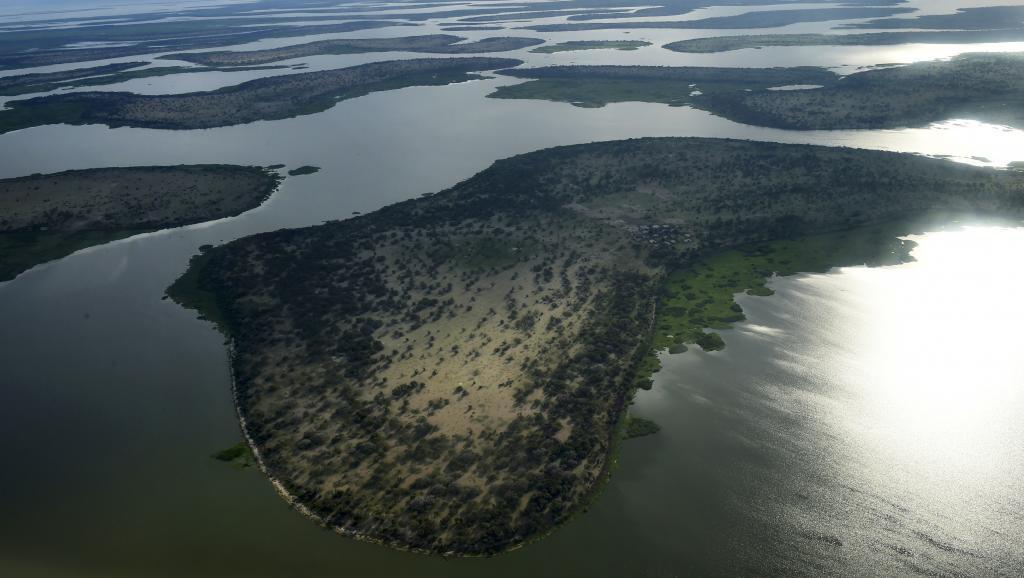 جانب من بحيرة اتشاد.