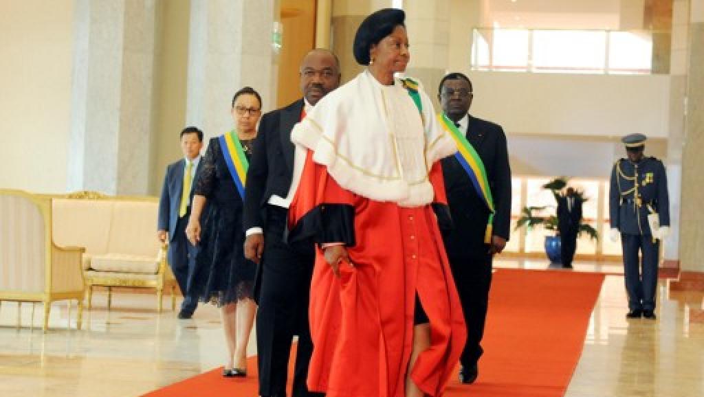 ماري مادلين امبورانتسو: رئيسة المحكمة الدستورية الغابونية.