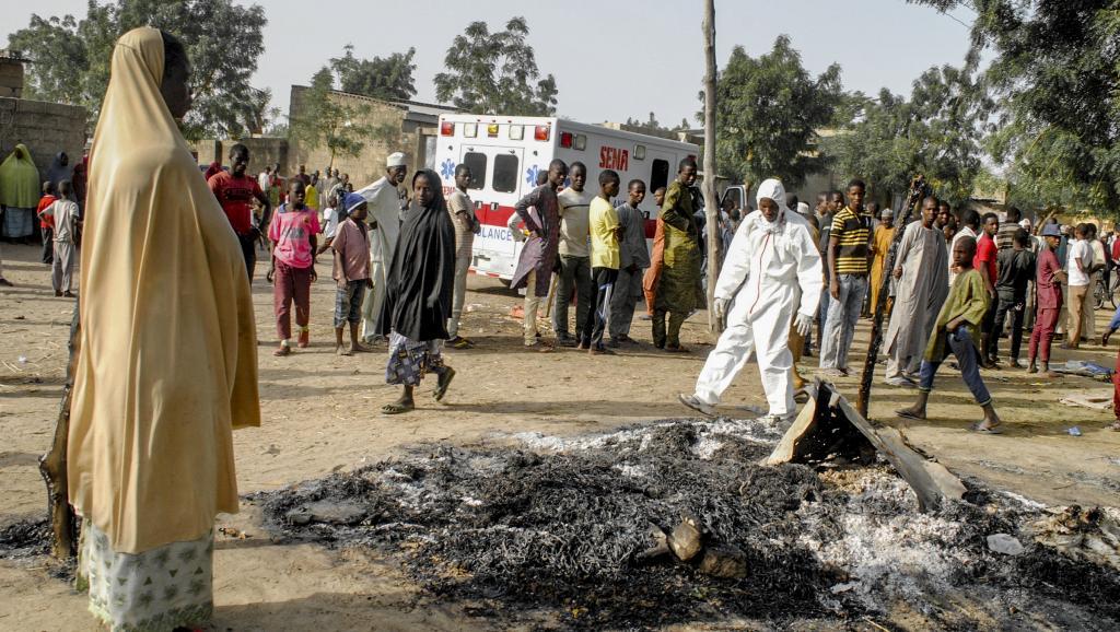 هجوم انتحاري شمال شرقي نيجيريا في 15 مارس 2017.