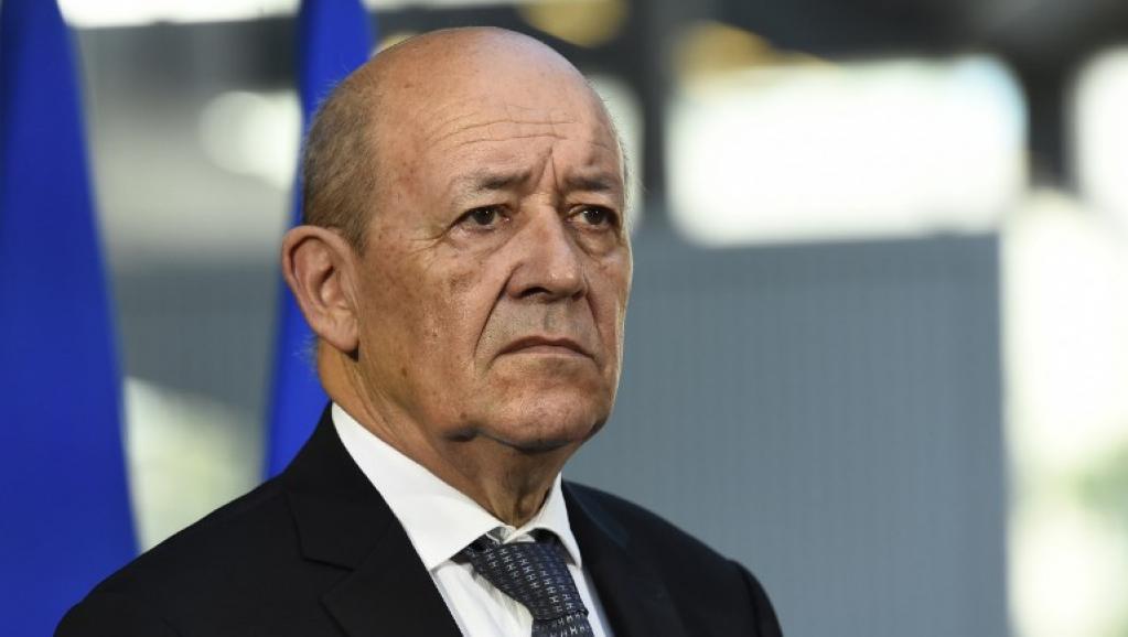 وزير أوربا والشؤون الخارجية الفرنسي جان إيف لودريان.