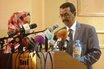 المنسق العام للاتحاد محمد عبد الرحمن ولد الزوين