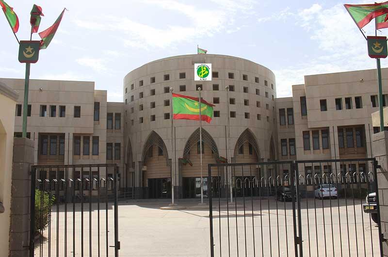 مبنى الوزارة الأولى في نواكشوط (وما)