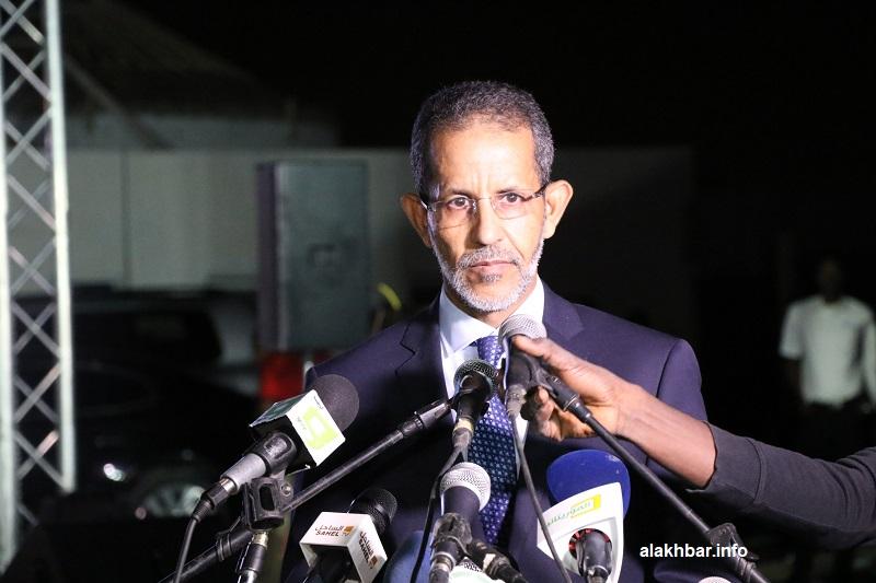 الوزير الأول إسماعيل بده الشيخ سيديا خلال نشاط سابق (الأخبار - أرشيف)