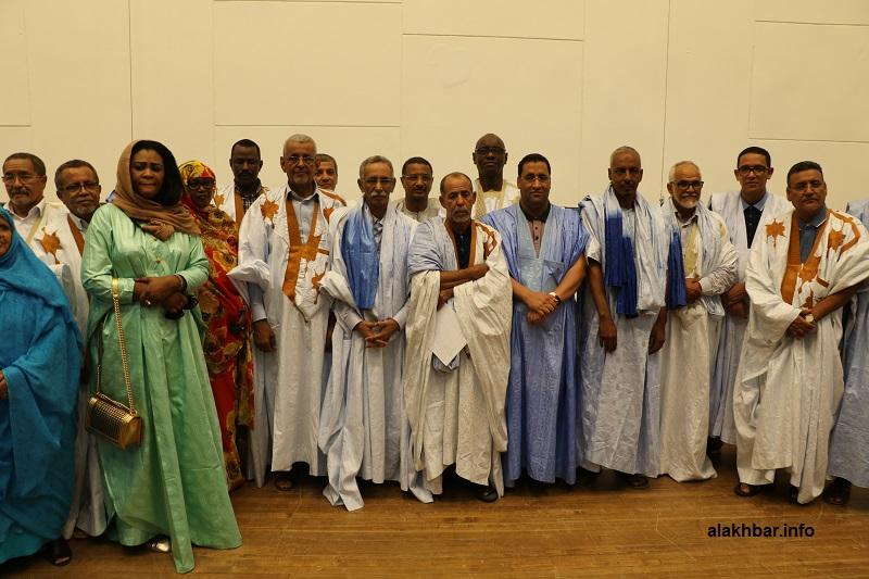 المكتب التنفيذي لحزب الاتحاد من أجل الجمهورية الحاكم بموريتانيا بعيد انتخابه ديسمبر 2019 (الأخبار - أرشيف)