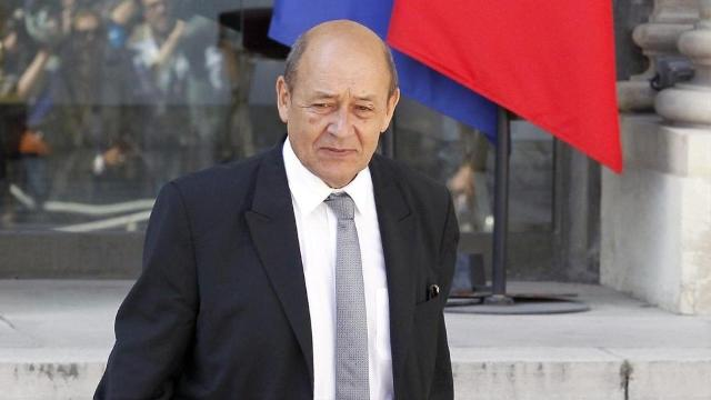 وزير الخارجية الفرنسي جان ايف لودريان