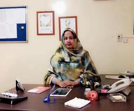 رئيسة جمعية أطفال التوحد الدكتورة مريم بنت الداه