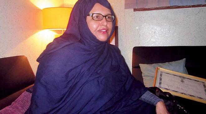 الشيخة والفنانة المعلومة بنت الميداح