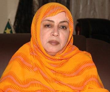 السفيرة الموريتانية السابقة في باريس عيشة بنت امحيحم