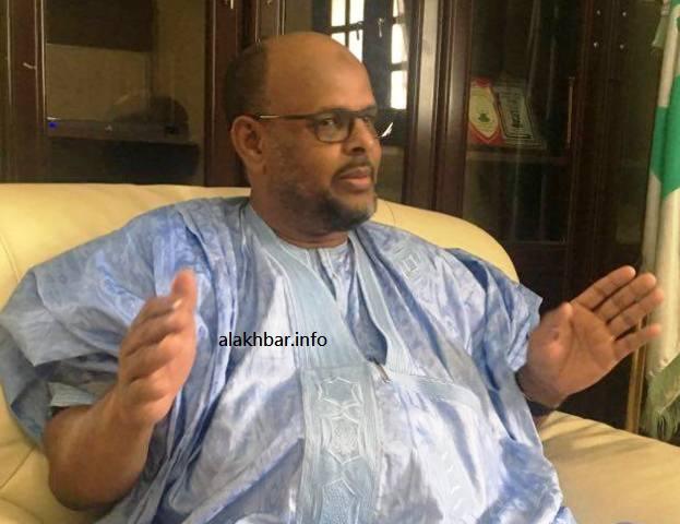محمد جميل ولد منصور رئيس حزب تواصل.