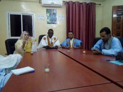 اللجنة الوطنية لشباب الحزب الحاكم خلال اجتماع سابق لها