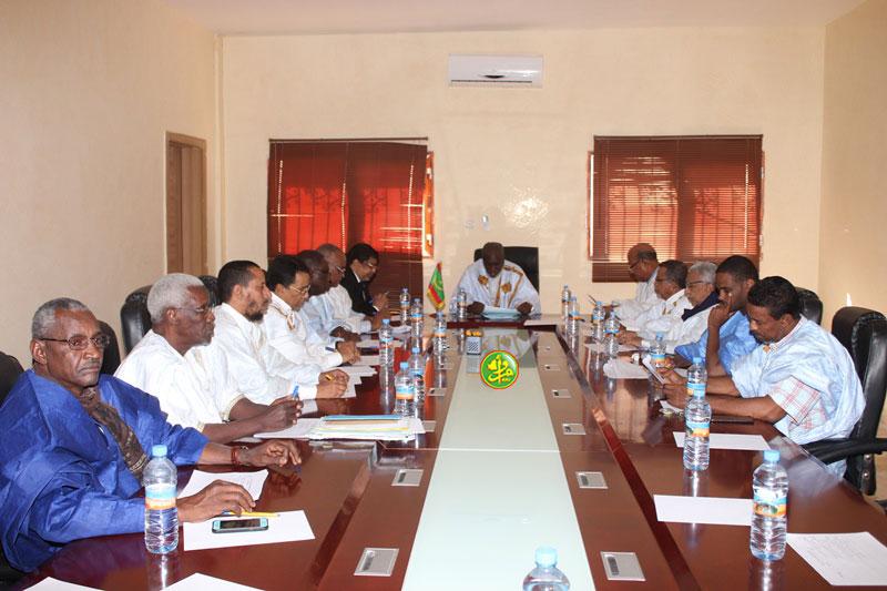 مؤتمر الرؤساء بالجمعية الوطنية خلال اجتماعه الجمعة (وما)