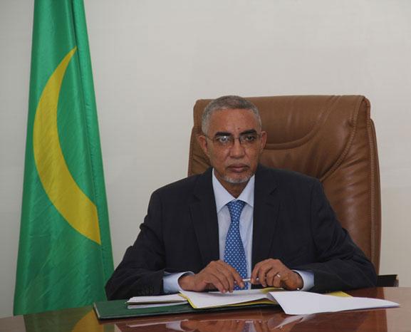 الوزير الأول الموريتاني يحيى ولد حدمين