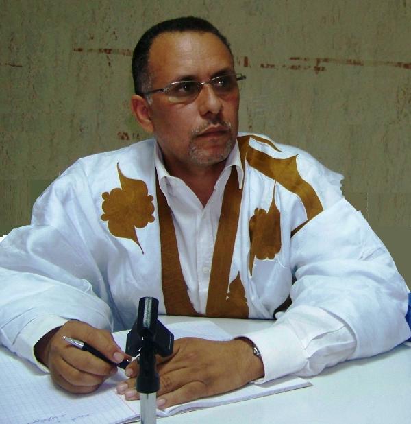 رئيس  لجنة حقوق الإنسان بموريتانيا أحمد سالم ولد بوحبيني (أرشيف)