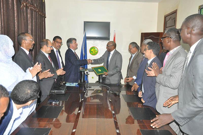توقيع الاتفاق اليوم في مكتب وزير الصحة في نواكشوط (وما)