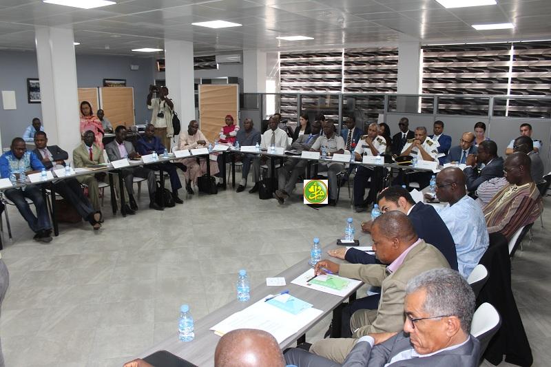جلسة اختتام أعمال الدورة الثانية من مشروع تعزيز التعاون الأمني بين الدول الأعضاء في مجموعة الدول الخمس بالساحل (وما)