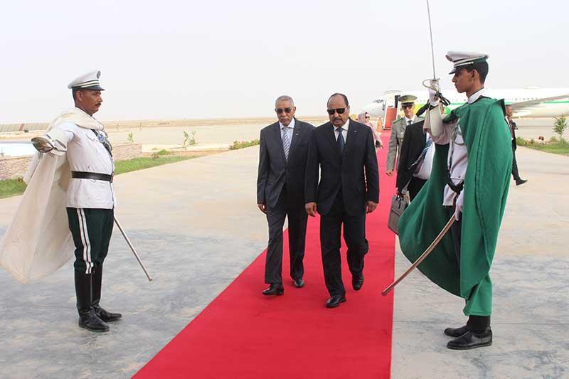 ولد عبد العزيز في مطار نواكشوط مساء اليوم عائدا من تركيا (وما)