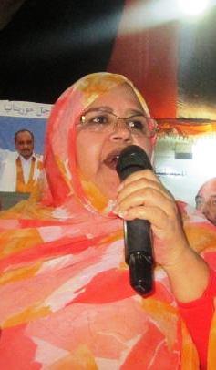 فيدرالية الحزب مريم بنت دحود استعرضت الانجازات التى تحققت (تصوير الأخبار)