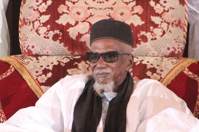 الراحل الشيخ سيدي المختار امباكي الخليفة العام السابق للطريقة المريدية.