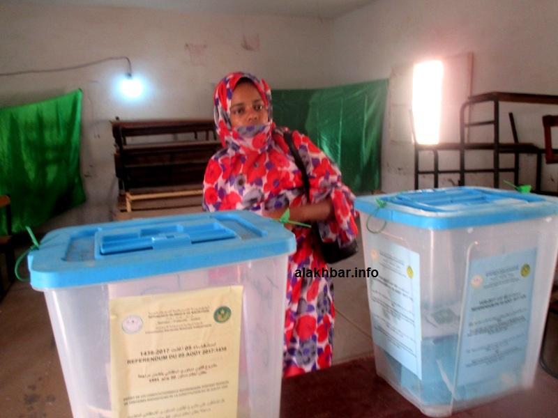 صناديق اقتراع في استحقاق انتخابي سابق بموريتانيا (الأخبار - أرشيف)