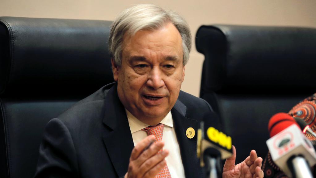 أنتونيو غوتيريس الأمين العام للأمم المتحدة.