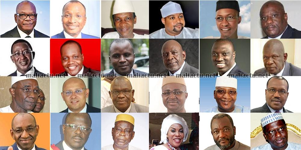 المترشحون 24 للانتخابات الرئاسية المالية للعام 2018.