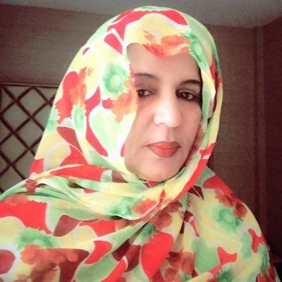 مديرة قطاع أمريكا وآسيا والمحيط الهادي بوزارة الخارجية الموريتانية المستقيلة السفيرة مريم بنت أوفى