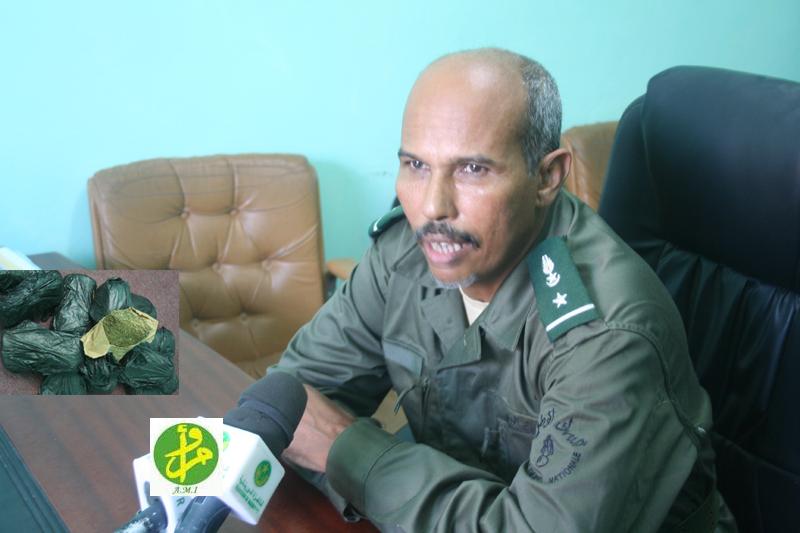 قائد الكتيبة المقال، محمد فال ولد عبد الله الكوري