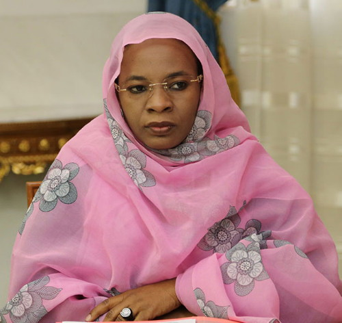 الوزيرة المنتدبة لدى وزير الشؤون الخارجية، المكلفة بالشؤون المغاربية والإفريقية وبالموريتانيين في الخارج، خديجة امبارك فال (وما)