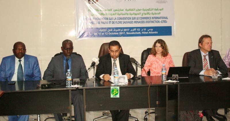 حفل افتتاح الدورة التكوينية صباح اليوم في نواكشوط (وما)