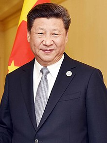 شي جين بينغ الرئيس الصيني.