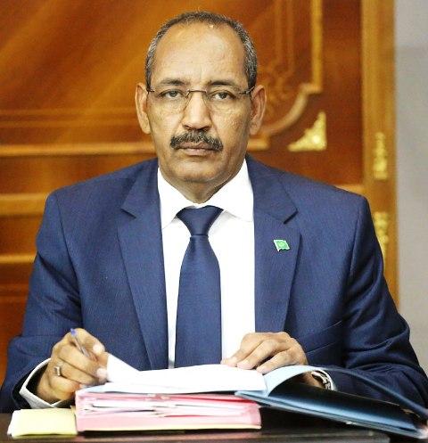 وزير الداخلية الموريتاني أحمد ولد عبد الله