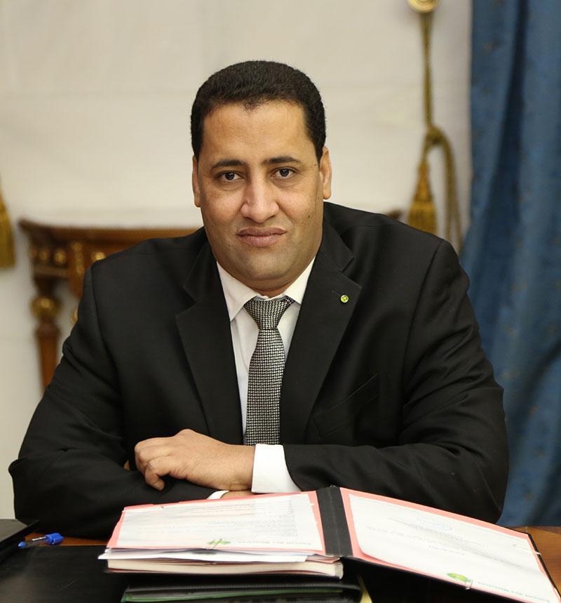 المختار ولد اجاي ـ وزير الاقتصاد والمالية