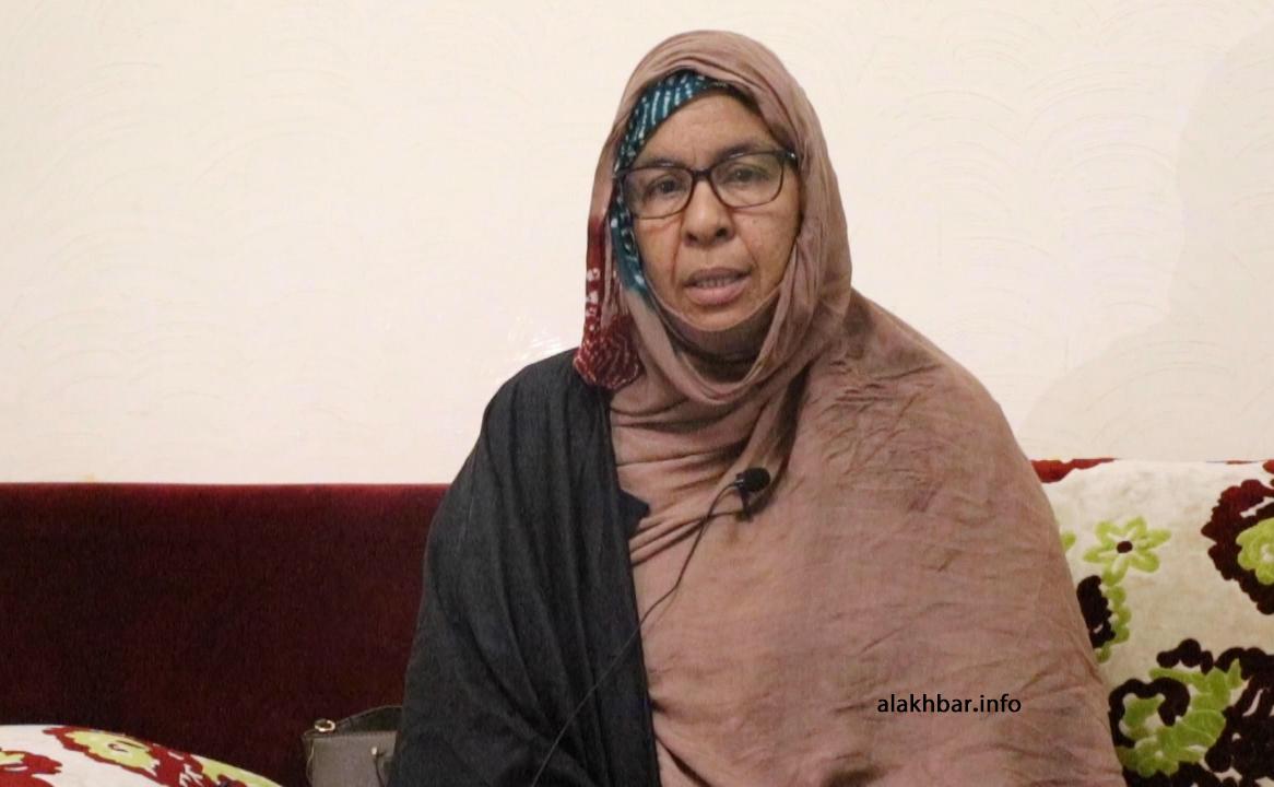 خالة المدون فاطمة بنت أحمد خلال حديثها للأخبار