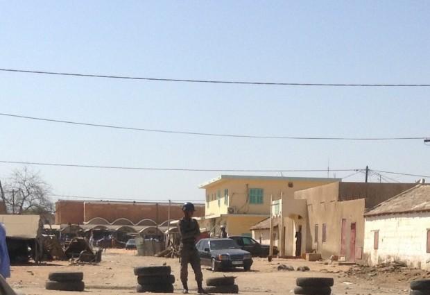 سجن مدينة روصو عاصمة ولاية الترارزة جنوبي موريتانيا