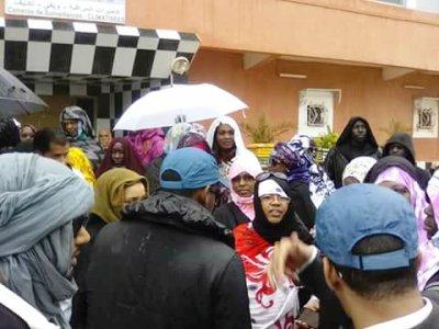 جانب من احتجاج سابق في نواذيبو / أرشيف الأخبار