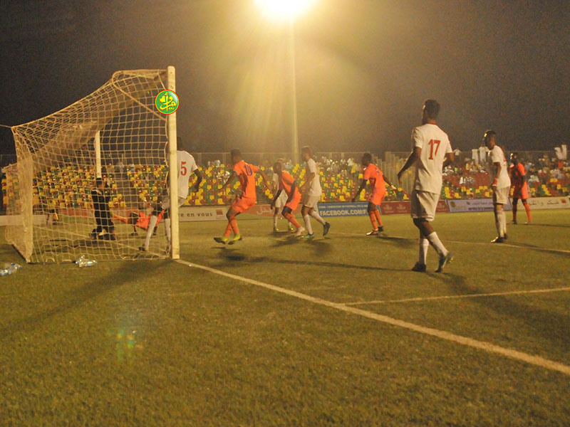 تمكن النادي الموريتاني من الفوز على ضيفه الليبي وسيتواجه الناديات في مباراة العودة الأربعاء القادم بالقاهرة (وما)