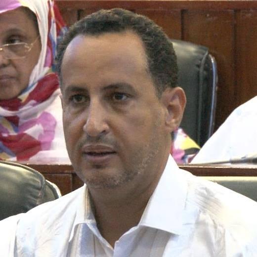 عضو مجلس الشيوخ الموريتاني محمد ولد غده