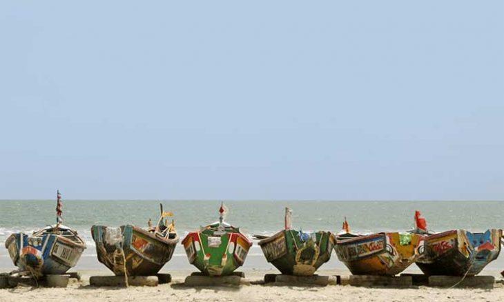 زوارق صيد في المياه الموريتانية